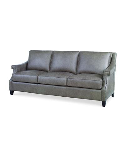 Ashten Leather Sofa, 82
