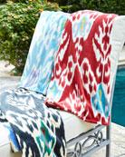 John Robshaw Umida Ikat Resort Towel