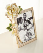 Jay Strongwater Rose Frame, 5