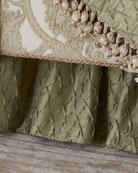 Austin Horn Classics Anastasia Shirred King Dust Skirt