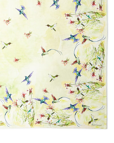 Hummingbird Breakfast Cloth