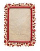 Jay Strongwater Bejeweled Frame, 4
