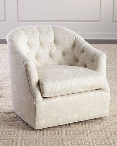 Brooklyn Tufted Swivel Chair