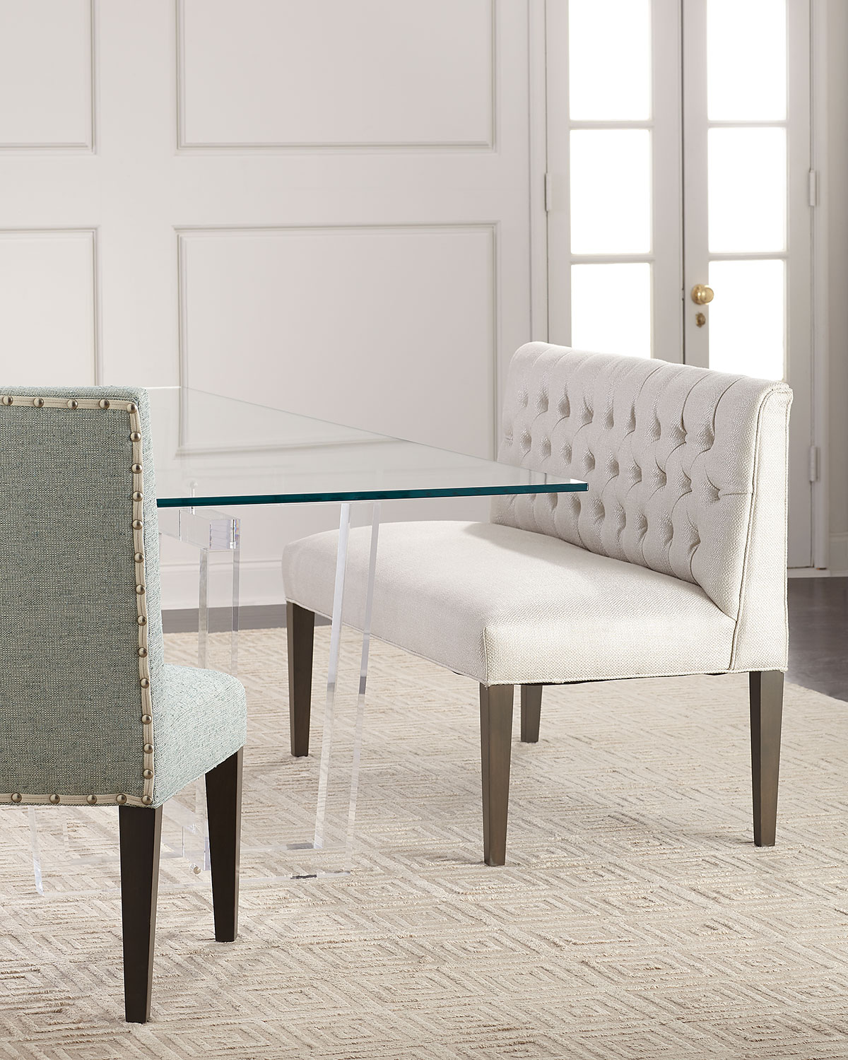 Neiman Marcus Benches Bedroom Furniture For Home Buy Best Home
