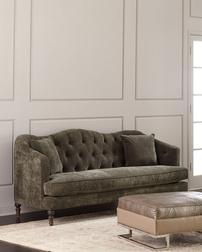 Marvelous Handcrafted Tufted Sofa Neiman Marcus Ocoug Best Dining Table And Chair Ideas Images Ocougorg