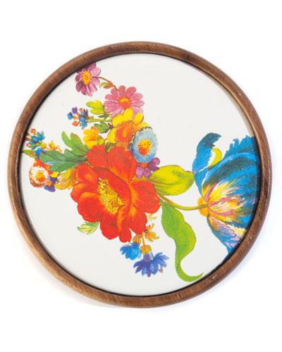 Flower Market Coasters, Set of 4