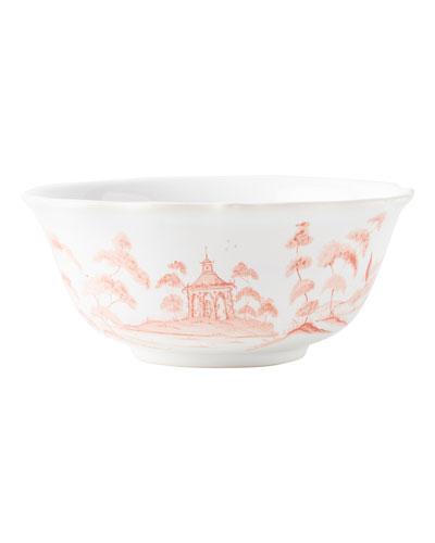 Country Estate Petal Pink Cereal Bowl