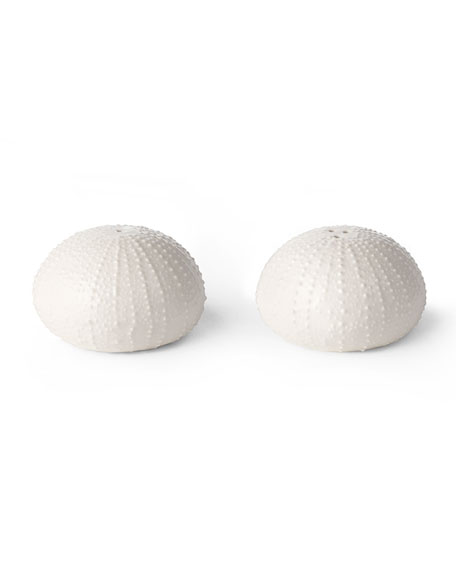 AERIN Ceramic Sea Urchin Salt and Pepper Shakers