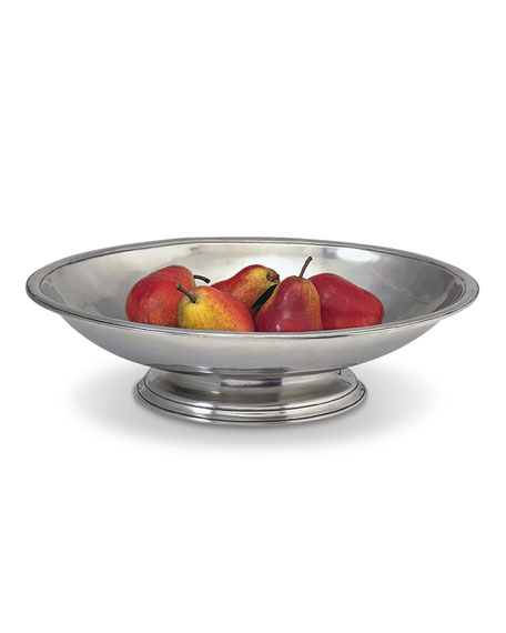 Match Oval Footed Centerpiece