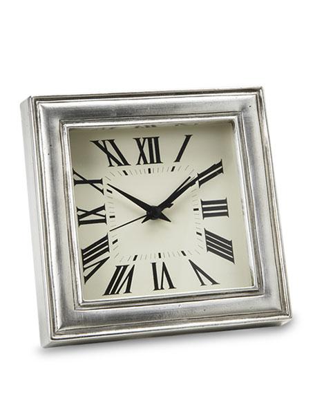 Match Pewter Clock