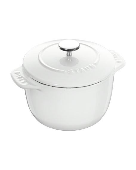 Staub 1.5-Qt. Petite French Oven, White