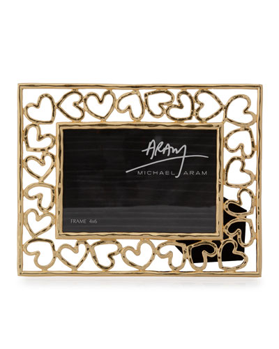 db39ed55af4 Quick Look. Michael Aram · Heart Photo Frame ...