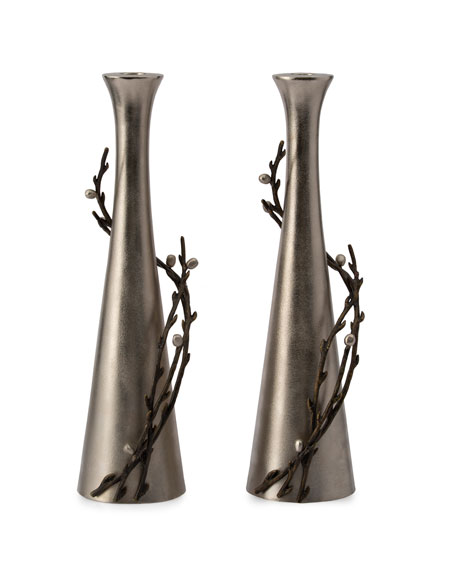 Michael Aram Willow Candle Holders, Set of 2