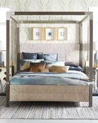 Bernhardt Palma King Canopy Bed