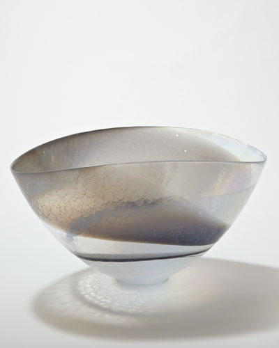 Moon Stone Oval Bowl