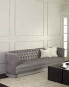 Haute House Fleche Tufted Sofa, 110