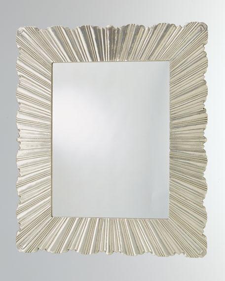 Global Views Large Linen Fold Mirror