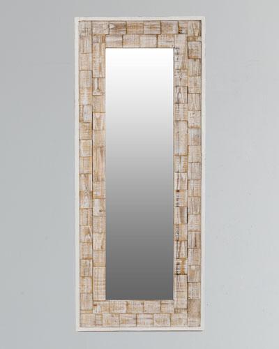 Eden Brick Floor Mirror
