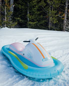 Funboy Inflatable Snowmobile Sled