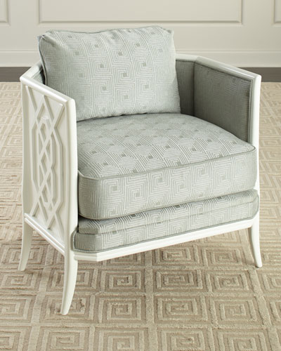 Fretwork Lounge Chair
