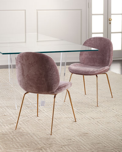 Luna Chenille Dining Chair