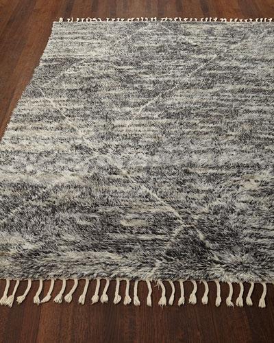 Reanna Hand-Knotted Shag Rug, 5.6' x 8'