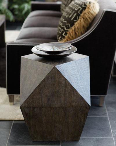 Linea Square Dimensional End Table