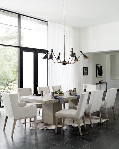 Bernhardt Linea Double Pedestal Dining Table