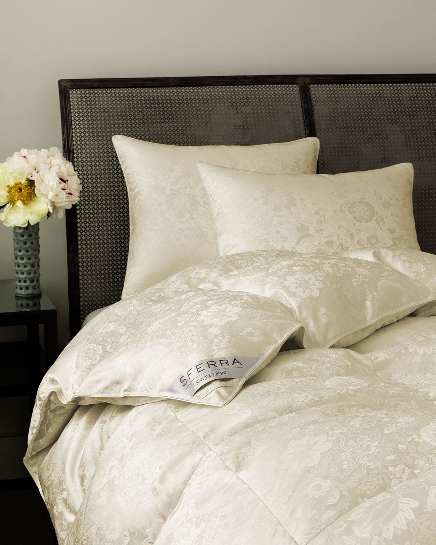 Sferra Pillows 900-FILL CANADIAN DOWN FIRM QUEEN PILLOW