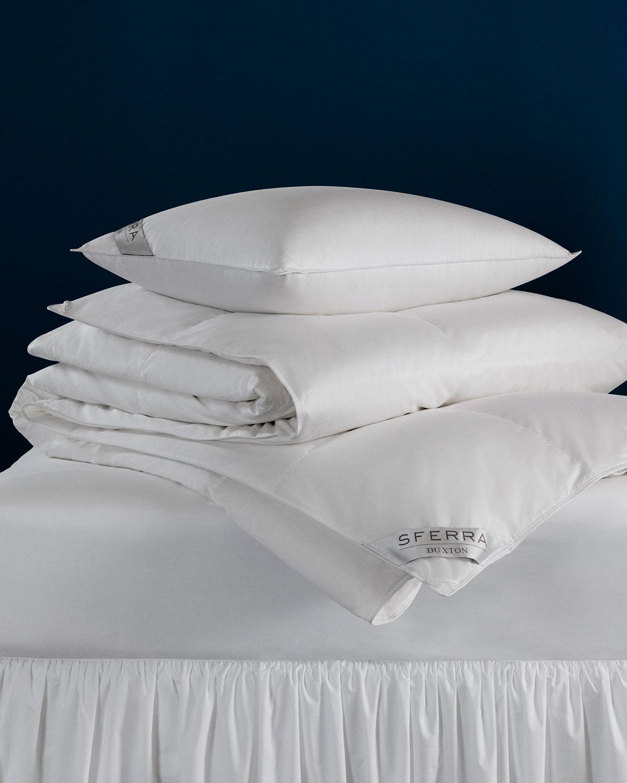 Sferra Pillows 600-FILL EUROPEAN DOWN FIRM QUEEN PILLOW