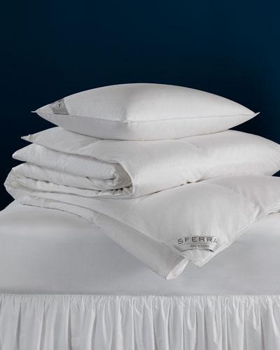 600-Fill European Down Medium Queen Pillow