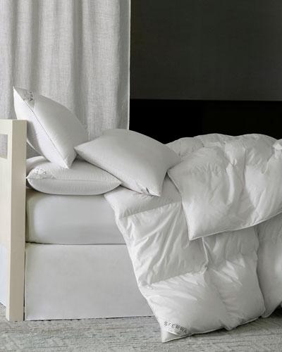 800-Fill European Down Firm Queen Pillow