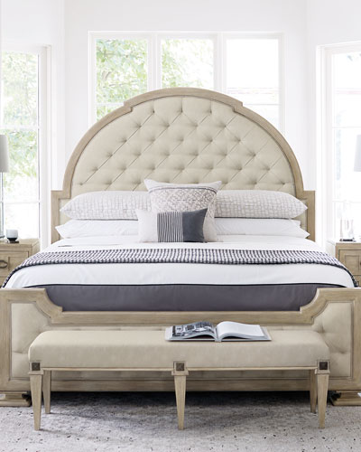 Santa Barbara Tufted King Bed