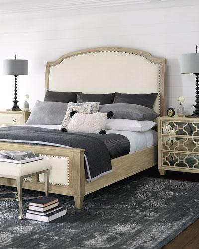 Santa Barbara Queen Sleigh Bed