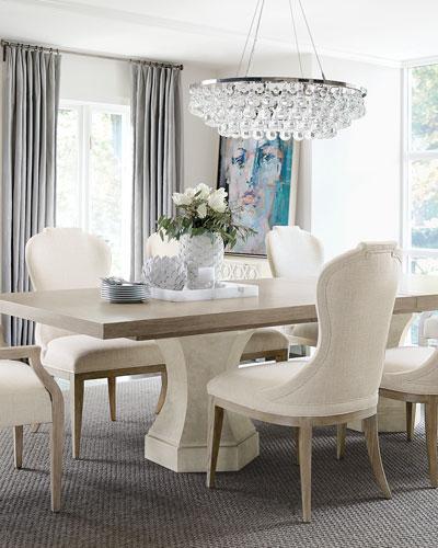 Santa Barbara Double Pedestal Dining Table