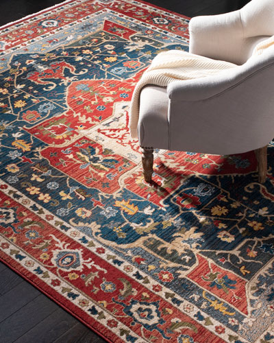 Camille Power-Loomed Rug, 9' x 12'
