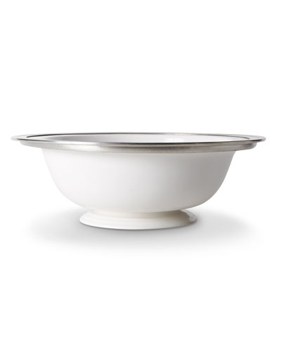 Large Gianna Round Footed Serving Bowl