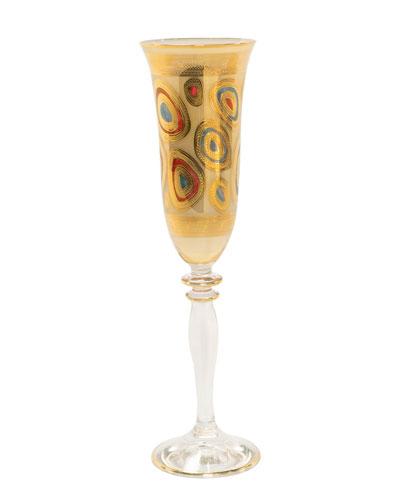 Regalia Champagne Glass, Cream