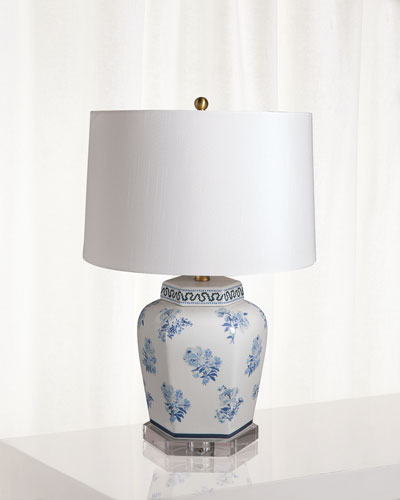 Isleboro Eve Blue Table Lamp