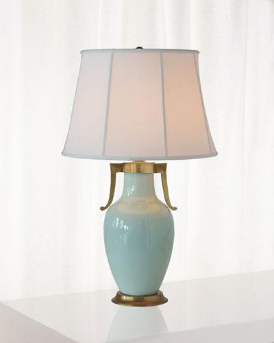 Glenda Celadon Table Lamp