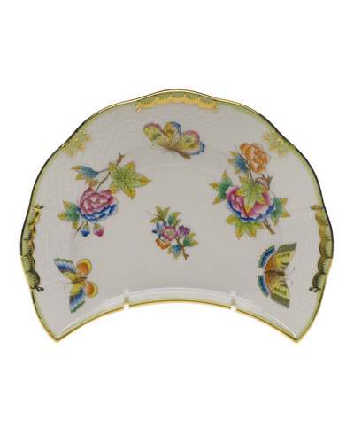 Queen Victoria Crescent Salad Plate