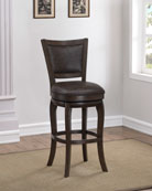 Andrew Leather Counter Stool