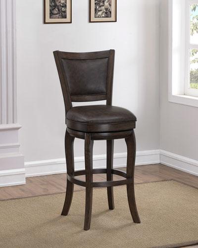 Fabulous Leather Swivel Bar Stool Neiman Marcus Short Links Chair Design For Home Short Linksinfo