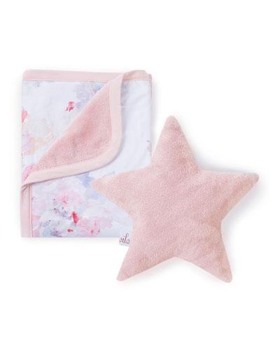 Prim Cuddle Blanket & Star Pillow Set
