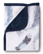Oilo Studio Featherly Jersey Cuddle Blanket