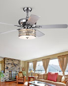 Home Accessories Davrin Drum Lamp Ceiling Fan