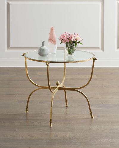Golden Fleece Side Table