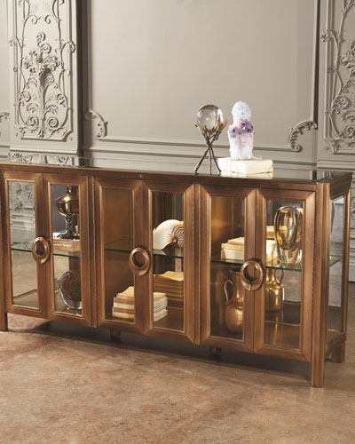 Apothecary Class Console Cabinet