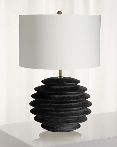Accordion Round Table Lamp