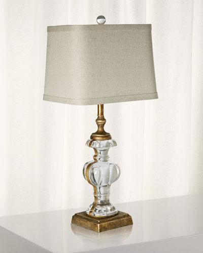 Parisian Glass Table Lamp